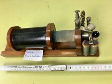 Schiebe Funkeninduktor  - sehr alt  Nr 3   nicht geprüft