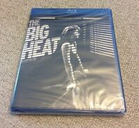THE BIG HEAT Blu-Ray - Twilight Time, Fritz Lang BRAND NEW SEALED Film Noir OOP
