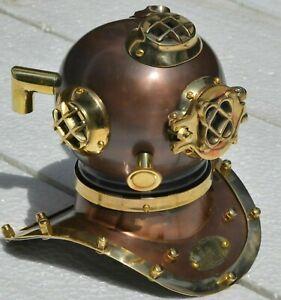 Antique Mini Diving Helmet Maritime V Mark Scuba Divers handmade gift item