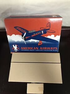 New American Airways Lockheed Orion Airplane Collector Bank SpecCast 42511