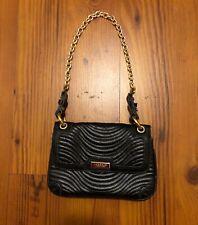 Versace Black Perfume Makeup Bag Small Purse 5 x 7 x 1