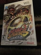 Mario Strikers Charged (Nintendo Wii, 2007)MISSING MANUAL - TESTED & WORKS