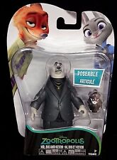 Disney Zootropolis Mr BIG & KEVIN Poseable figures. New!