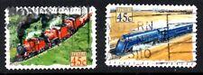 stamps Australia A457(2) Trains