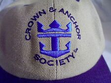 Royal Caribbean Adjustable Dad Hat Crown & Anchor Society One size