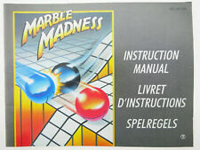 Marble Madness | Anleitung Handbuch Manual | Nintendo NES | NES-MV-FRA
