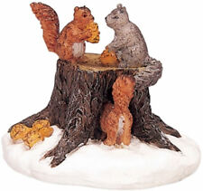 Lemax Decoration 'Chipmunks', Christmas Cake Decorating Squirrels Topper Figure