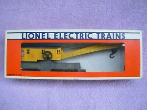 Lionel O Scale Union Pacific Crane car (With Sprung trucks 4 Axel) 6-6510