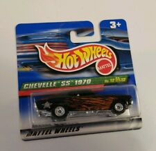 HOT WHEELS 2000 TREASURE HUNT CHEVELLE SS 1970 #12/12 INTERNATIONAL SHORT CARD