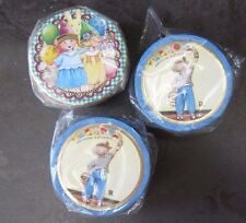 "New Mary Engelbreit 3"" Trinket Boxes - Party Girls and Anything is Possible"