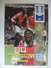 Away Teams Arsenal Final Football FA Cup Fixture Programmes