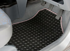 TAILORED RUBBER CAR MATS WITH GREY TRIM FOR NISSAN X-TRAIL (2014 ONWARDS) [3406]