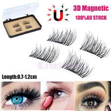 4pcs Magnetic Eyelashes 3d Handmade Mink Reusable False Magnet Eye Lashes AU