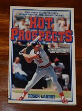 HOT PROSPECTS BY ROGER LANDRY TOTAL GUIDE TO 1990'S MINOR LEAGUE AND ROOKIES