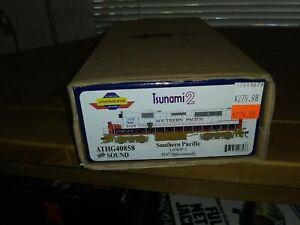 Athearn Genesis HO Southern Pacific GP40P-2 3197 DCC Sound TSUNAMI 2
