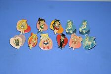 SAILOR MOON Pegasus,Tuxedo Mask,Luna,Chibimoon E.T.C 11 Pins SET KANEBO