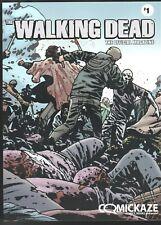 THE OFFICIAL WALKING DEAD MAGAZINE # 1 HORROR COMICKAZE VARIANT COVER COMICS
