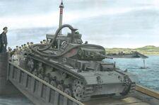 """1/35 German Pz.Kpfw. III Ausf. F 3,7cm(T) """"Operation Seelöwe"""" ~ NEW DRAGON #6877"""