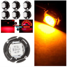 30pcs High Bright T4.7 Wedge LED bulb for Car A/C Instrument Panel Gauges Light