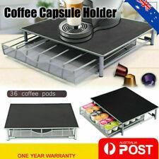 Coffee Machine Stand 36 Dolce Gusto Capsule Pod Storage Drawer Holder AU Stock