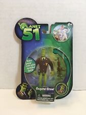 "New 2009 Planet 51 General Grawl Figure 3 1/2"" Jazwares, Inc. Action Figure"