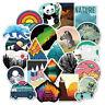 50 Cute Travel Stickers bomb Vinyl Skateboard Luggage Laptop Decals Dope Sticker