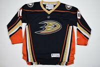 Reebok Anaheim Ducks Corey Perry Youth Jersey L/XL Black Excellent Condition