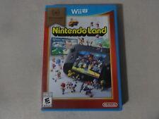 EUC Nintendo Land Nintento Selects Nintendo Wii U Game Complete Free Ship