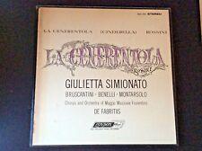 3 LP Box London FFRR La Cenerentola (Cinderella) With Booklet OS.25860-OS.25862