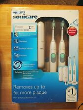 2 pack Philips Sonicare HX6254 HX6281 2 Series Toothbrush+Head+Case+Charger