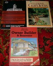 Staines OWNER BUILDER & RENOVATOR Timber Framing Roofing + Planning your garden