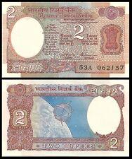 INDIA 2 RUPEES 1976 P 79L UNC W/H