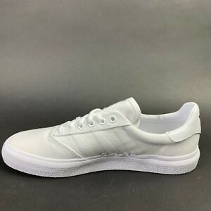 Adidas Men's Shoes Low Top Skateboarding Fashion Sneakers White/Gold Size 8.5 US
