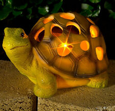 Solar Garden Light Tortoise Patio Ornament Yard Lawn Outdoor LED Decor Automatic