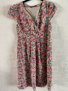 BODEN  Limited Edition floral 100% silk  dress size 10