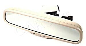 Genuine AUDI A4 Avant S4 Interior Mirror With Compass Beige 8R0857511CY22