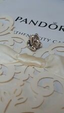 Beautiful Authentic Pandora sterling silver bunny charm ALEs925