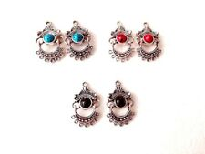 connector charm 28*18mm Usa Eub Antique Tibet silver chandelier earring pendant