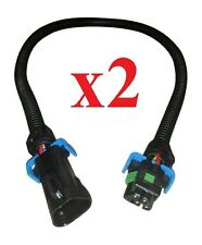 "TWO C6 Corvette Camaro 24"" GM Oxygen Sensor Extension Harness LS2 LS3 LS7 o2 02"