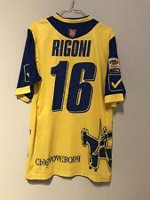 Maglia Calcio Chievo Verona Match Worn Shirt Rigoni N 16 Indossata Serie A