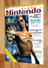 1999 Club Nintendo Magazine Mystical Ninja Conker's Pocket Tales Donkey Kong 3