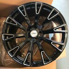 "22""reviera rv150 black mld alloy wheels audi q7/vw tourag porsche cayenne tyres"