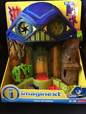 Fisher-Price Imaginext Dc Super Friends Hall Of Doom Lex Luthor Toy Set New