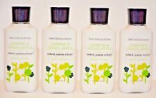 4 Bath & Body Works Jasmine Green Apple Vitamin E Aloe Natural Body Lotion 8oz