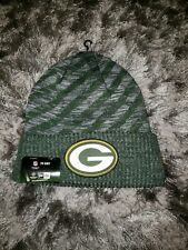 Green Bay Packers NFL Knit Winter Hat Cap New Era Sideline $28 NWT Insulated