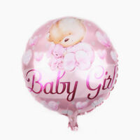 1pc Pink Baby Girl Balloons Happy Birthday Party Decor Bar Christmas Gift.FR