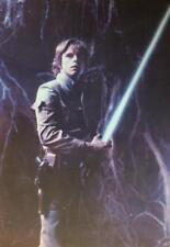 LUKE SKYWALKER The Empire Strikes Back STAR WARS 1980 Vintage Postcard