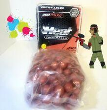 🔥 NEW UNOPENED .68 Caliber 200 Count paintballs EG paint grade paintballs