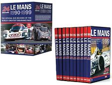 LE MANS  1990-1999 - 24 Hour - 10 Disc Review Sportscar Collection - Rg Free DVD