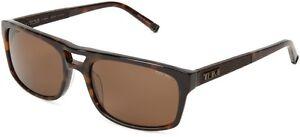 Tumi Humber Aviator Zeiss ZR3 Polarized Sunglasses Tort Made in Japan $285 NEW